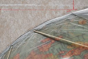 Christo, Wrapped Globe (Eurasian Hemisphere), 2019 (Detail)