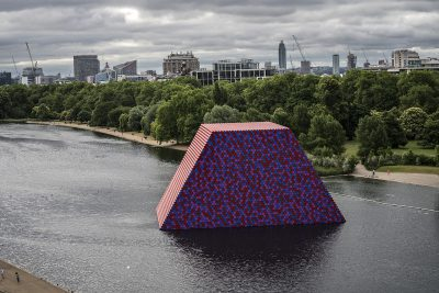 Christo & Jeanne-Claude, Wolfgang Volz, The London Mastaba, Motiv 4, 2018