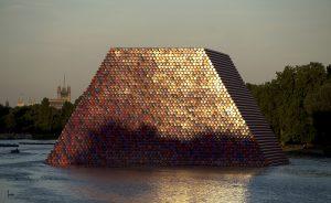 Christo & Jeanne-Claude, Wolfgang Volz, The London Mastaba, Motiv 7, 2018