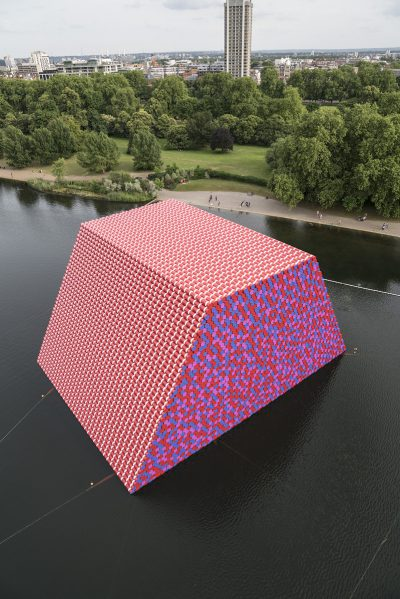 Christo & Jeanne-Claude, Wolfgang Volz, The London Mastaba, Motiv 8, 2018