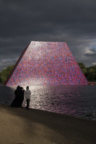 Christo & Jeanne-Claude, Wolfgang Volz, The London Mastaba, Motiv 10, 2018