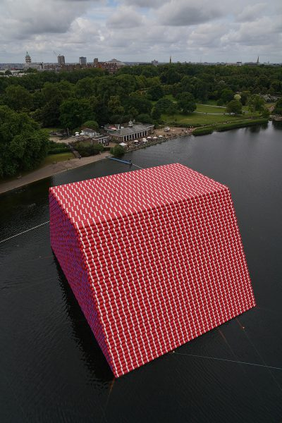 Christo & Jeanne-Claude, Wolfgang Volz, The London Mastaba, Motiv 11, 2018