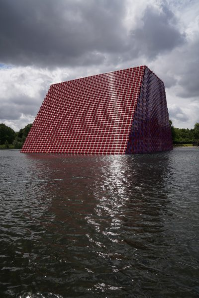 Christo & Jeanne-Claude, Wolfgang Volz, The London Mastaba, Motiv 12, 2018