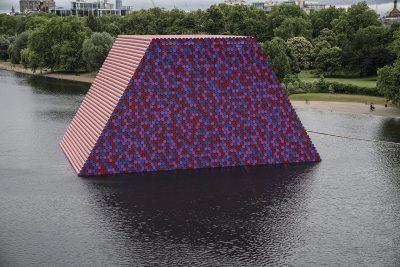 Christo & Jeanne-Claude, Wolfgang Volz, The London Mastaba, Motiv 13, 2018
