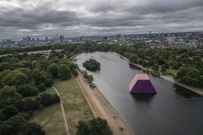 Christo & Jeanne-Claude, Wolfgang Volz, The London Mastaba, Motiv 14, 2018