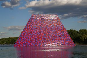 Christo & Jeanne-Claude, Wolfgang Volz, The London Mastaba, Motiv 16, 2018