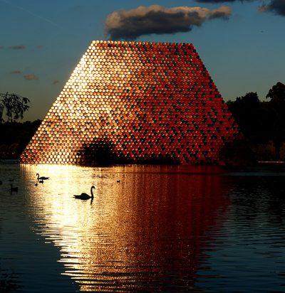 Christo & Jeanne-Claude, Wolfgang Volz, The London Mastaba, Motiv 17, 2018
