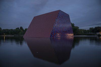 Christo & Jeanne-Claude, Wolfgang Volz, The London Mastaba, Motiv 18, 2018