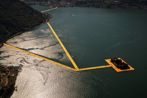 Christo & Jeanne-Claude, Wolfgang Volz, Lago d'Iseo – WV 04, 2016