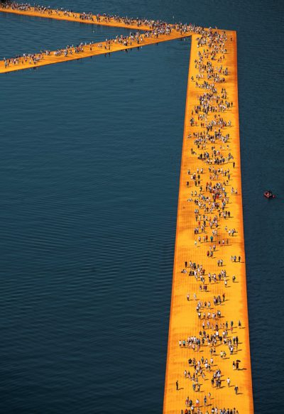 Christo & Jeanne-Claude, Wolfgang Volz, Lago d'Iseo – WV 12, 2016