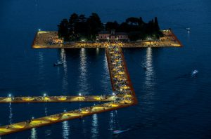 Christo & Jeanne-Claude, Wolfgang Volz, Lago d'Iseo – WV 14, 2016