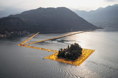 Christo & Jeanne-Claude, Wolfgang Volz, Lago d'Iseo – WV 16, 2016