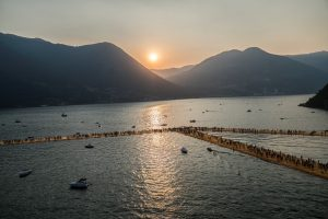 Christo & Jeanne-Claude, Wolfgang Volz, Lago d'Iseo – WV 17, 2016