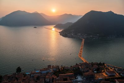 Christo & Jeanne-Claude, Wolfgang Volz, Lago d'Iseo – WV 18, 2016