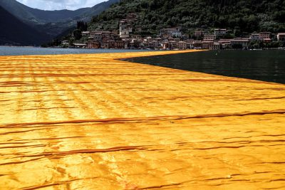 Christo & Jeanne-Claude, Wolfgang Volz, Lago d'Iseo – WV 21, 2016