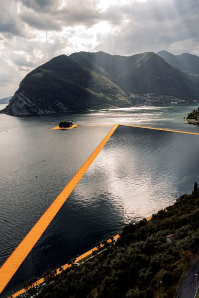 Christo & Jeanne-Claude, Wolfgang Volz, Lago d'Iseo – WV 22, 2016