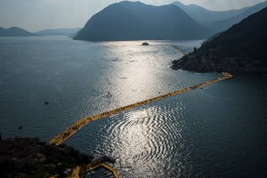 Christo & Jeanne-Claude, Wolfgang Volz, Lago d'Iseo – WV 29, 2016