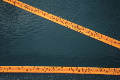 Christo & Jeanne-Claude, Wolfgang Volz, Lago d'Iseo – WV 30, 2016