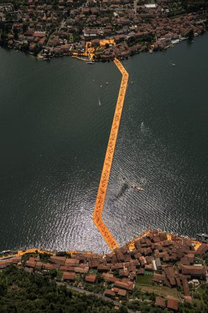 Christo & Jeanne-Claude, Wolfgang Volz, Lago d'Iseo – WV 32, 2016