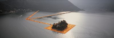 Christo & Jeanne-Claude, Wolfgang Volz, Lago d'Iseo – WV 40, 2016