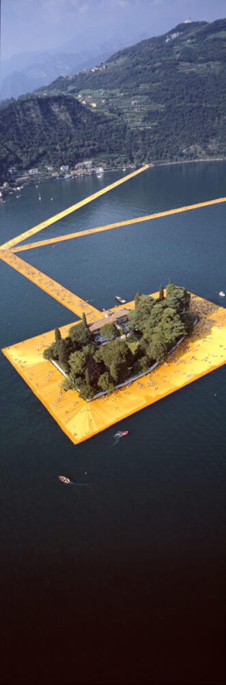 Christo & Jeanne-Claude, Wolfgang Volz, Lago d'Iseo – WV 43, 2016