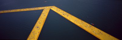 Christo & Jeanne-Claude, Wolfgang Volz, Lago d'Iseo – WV 48, 2016