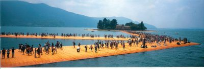 Christo & Jeanne-Claude, Wolfgang Volz, Lago d'Iseo – WV 51, 2016