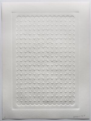 Jan Henderikse JFK Prägedruck 2015 80 x 60 cm