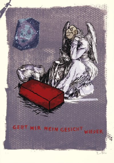 Jörg Immendorff, fifty fifty – Gebt mir mein Gesicht wieder, 2005