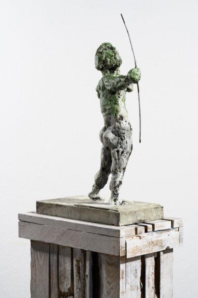 Markus Lüpertz, Sternzeichen – Schütze, Skulptur, 2018. Bronze, handbemalt, 53 x 37 x 20 cm, 30 arab. zzgl. 6 röm. Exemplare | Entdecken Sie die Tiekreiszeichen von Markus Lüpertz