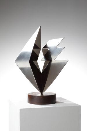 -heinz-mack-idee-und-materie-edelstahl-skulptur-1990