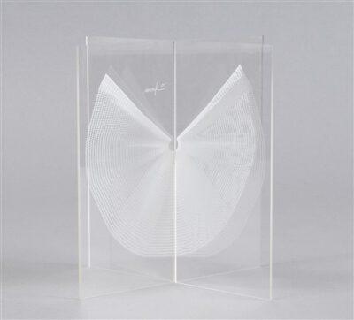 Heinz Mack Kleine Flügelplastik Skulptur 1980