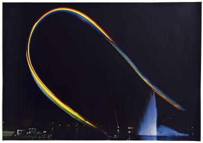 Otto Piene Olympia-Regenbogen Serigrafie 1972
