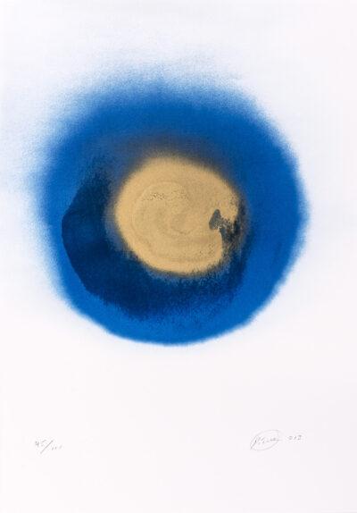 Otto Piene Kokarde am Himmel Reliefsiebdruck 2013
