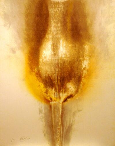 Otto Piene Lady Fire Reliefsiebdruck 1974 2014