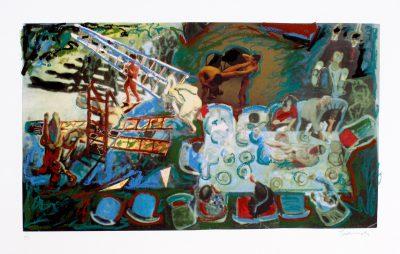 Norbert Tadeusz, o.T. (Abendmahl), 1993