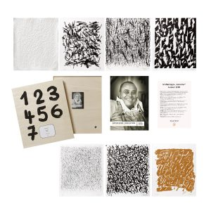 Günther Uecker, Kalender 2009 – 7 Grafiken, gestaltete Holzkiste und DVD
