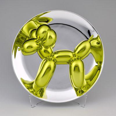 Jeff Koons, Balloon Dog (Yellow), 2015 © Jeff Koons