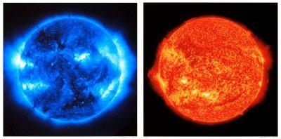 Katharina Sieverding, Die Sonne um Mitternacht schauen SDO/NASA, 2017