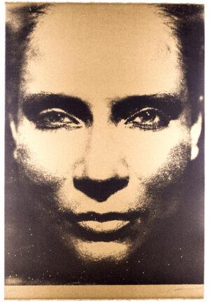 DIE SONNE UM MITTERNACHT SCHAUEN 7A/III/196/1973, monocrome-gold, 2015