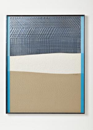 Heinz Mack Sahara Station 4 – Die Sandreliefs Collage Mischtechnik 1972-1975