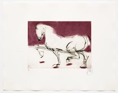 Markus Lüpertz, Troja (Motiv 8), 2019