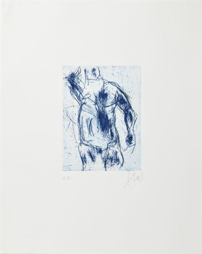 Markus Lüpertz, Herkules (blau), 2012