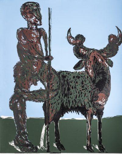 Markus Lüpertz, Der Hirte, 1987/1988