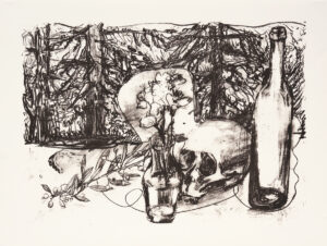 Markus Lüpertz, Tosca (Motiv 1), 2016, Lithografie auf Bütten, 61,5 x 82,8 cm, 20 arab. num. Exemplare zzgl. e.a.