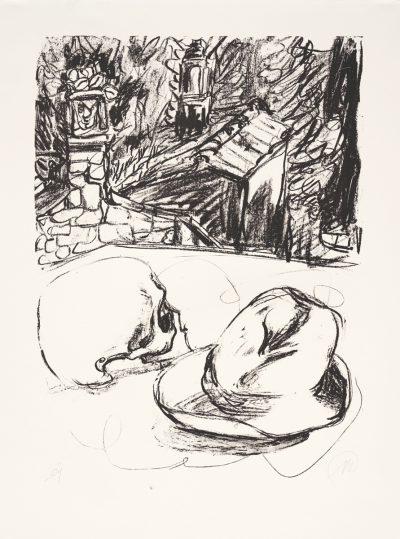 Markus Lüpertz, Tosca (Motiv 6), 2016