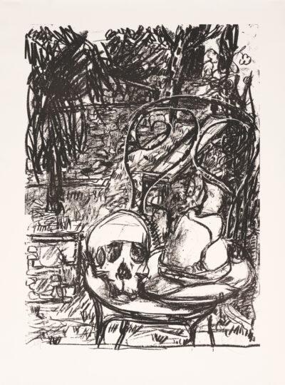 Markus Lüpertz, Tosca (Motiv 10), 2016, Lithografie auf Bütten, 82,8 x 61,5 cm, 20 arab. num. Exemplare zzgl. e.a.