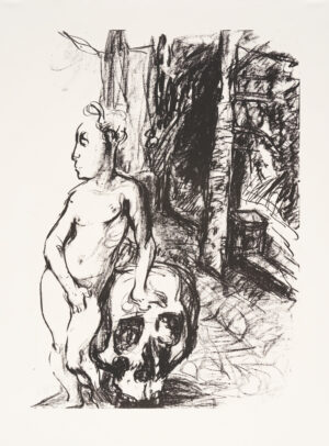 Markus Lüpertz, Tosca (Motiv 11), 2016, Lithografie auf Bütten, 82,8 x 61,5 cm, 20 arab. num. Exemplare zzgl. e.a.