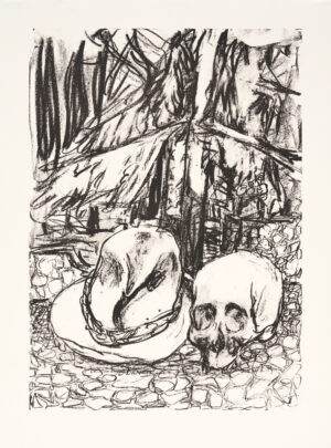 Markus Lüpertz, Tosca (Motiv 14), 2016, Lithografie auf Bütten, 82,8 x 61,5 cm, 20 arab. num. Exemplare zzgl. e.a.