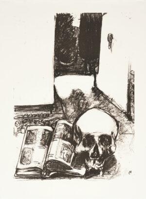 Markus Lüpertz, Tosca (Motiv 16), 2016, Lithografie auf Bütten, 82,8 x 61,5 cm, 20 arab. num. Exemplare zzgl. e.a.